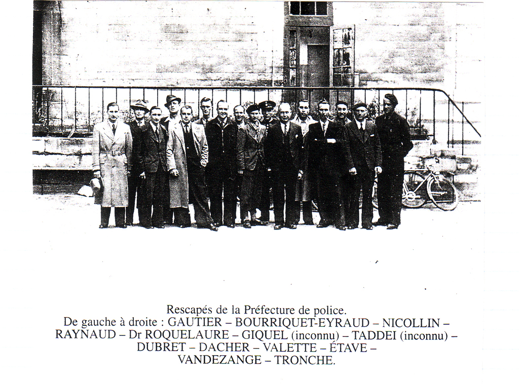 Souvenirs drame du fort de vincennes aout44 recit famille pierre pommereau - Prefecture de police porte de clignancourt ...